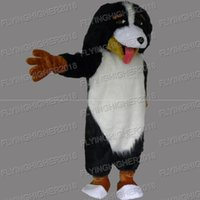 Wholesale Dog Suits Adult - customization Higher quality dog Mascot Costume adults christmas Halloween Outfit Fancy Dress Suit EMS Free Shipping