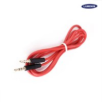 Câble auxiliaire audio 1.2M 3.5mm Wave AUX Extension Male to Male pour Samsung Phone PC MP3 Headphone Speaker