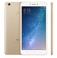 Wholesale Andriod Player - Original Xiaomi Mi Max 2 Andriod 7.1 4G SmartPhone 6.44inch Snapdragon 625 Octa Core 4GB RAM 64GB ROM 12.0MP Mobilephone