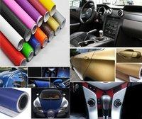 Wholesale Vinyl Car Wrap Blue - 30cm*127cm 152cm*30cm 3D DIY Carbon Fiber Vinyl Car Wrap Sheet Roll Film Waterproof Car stickers Decals Motorcycle Car Styling