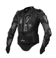 HEROBIKER Novos homens motocross racing ally terno jaqueta New Fashion Black and Red Motorcycle Full Body Armor Jacket