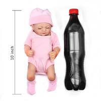 Wholesale Mini Babe - Accessories Dolls Full Vinyl Body Reborn Baby 10 Inch 28cm Mini Dolls Lifelike Doll Babies Alive Toy Soft babe Babies
