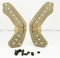 Wholesale Helmet Side Rail for ACH MICH PASGT Helmet TAN GREY
