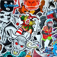 Wholesale 1000 Kinds Of Stickers Graffiti Stickers PVC Variety Of Styles Cartoon Animation Logos Sports