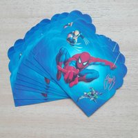 spiderman birthday invitations - pc spiderman party supplies invitation card kid s birthday party supplies and spider man party and event supplies