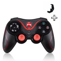 Wholesale Tablet Pc Game Controller - Newest Design S3 Smartphone Game Controller Wireless Bluetooth Phone Gamepad Joystick for Android  Pad Tablet PC TV BOX