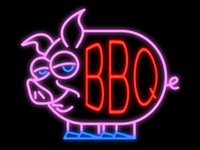 Wholesale Bbq Signs - Fashion New Handcraft BBQ Pig Real Glass Tubes Beer Bar Pub Display neon sign 19x15!!!