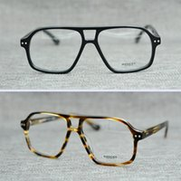 Wholesale Arrow Glass Lens - Brand 2017 Brand design Moscot BJORN eyewear johnny depp glasses top Quality brand round eyeglasses frame with Arrow Rivet