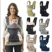 Wholesale wrap infant carrier - 360 Baby Carrier Multifunction Breathable Infant Carrier Backpack Kid Carriage Toddler Sling Wrap Suspenders 8 color KKA2926