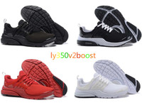 Wholesale Finest Dark Brown - With box Original Air Presto BR QS Women Men Running Shoes Fine Mesh Mesh Breathable Cheap Sneaker Red Blue Triple White Black Fall Olive