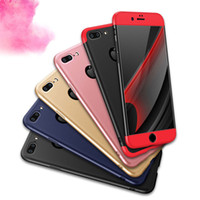 Wholesale Body Sharper - Luxury 3 in 1 Armor 360 Degree Full Body Protection Cover Case For iPhone 5 5S SE 6 6S 7 iPhone7 Samsung S7 Edge S8 Plus
