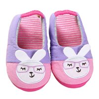 Wholesale Children S Footwear Wholesalers - Fashion Toddler Girls Slippers for Boys Cute Cartoon Sandals Children 's Home Indoor Cotton Flats Soft Rubber Sole Kids Footwear in House