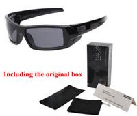 Wholesale Cycling Eyewear - 2017 sports Brand sunglasses men women with Original box UV400 Mirror Cycling Sport Outdoor Eyewear Goggles mens sun glasses oculos de sol