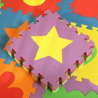 Wholesale Crawling Foam Mat - Wholesale- Hot selling 32*32 cm 5 pieces set Puzzle Mat EVA Baby Play Mat Foam Kid Crawl Mat