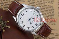 стальные браслеты оптовых-AAA качество спорт механические автоматические дата роскошные мужские часы сапфировые часы браслет из нержавеющей стали наручные часы подарок мужской кожаные часы