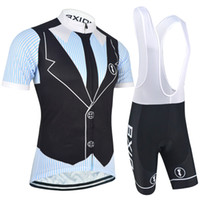 Wholesale Cool Cycling Jerseys Men - BXIO Suit Pattern Cycling Jerseys Summer Short Sleeve Zipper Bikes Clothes New Arrival Cycle Clothing Cool Bicycle Jerseys Sets BX-063