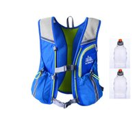 Wholesale Long Trail running vests Ultimate Running mochilas DSL training with or without water hydration packs and two water fasks