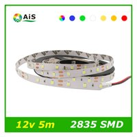 RGB Led Strip SMD2835 Nicht wasserdicht 5M 60Led / M Ledstrip Licht DC 12V Fita Led String Stripe Bar Neon Bombillas Led Lampe Beleuchtung