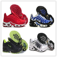Flat original cushions - Original Low TN Running Shoes Red On The Flat Bottom Air Cushion Shoes Men Helped Breathable Light Running Shoes