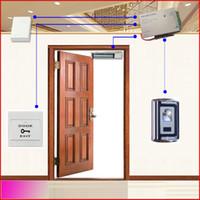 система доступа к дверям с отпечатками пальцев оптовых-Оптовая продажа-автономная одиночная система контроля допуска входа двери отпечатка пальцев двери (998 потребителей отпечатка пальцев)
