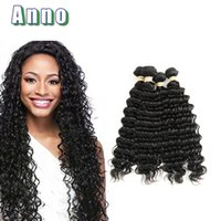 Barato Ondas De Cabelo-2017 Oferta Especial Venda Uk Peruvian Virgin Hair Maxglam Cabelo Deep Wave Peruvian 4 Bundles 6a Virgin 4pcs Unprocess