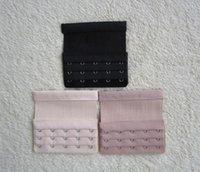 Laile Bra Extension Extender 7 Couleurs Extension Soutien-Gorge Extender Bra Extender Soutien-Gorge Extension 3 Rang/ées 2 Crochets