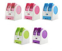 Wholesale Desktop Usb Air Conditioner - HOTTEST Sale Mini USB Fragrance Refrigeration Fan Portable Bladeless Desktop fan Cooling Air Conditioner with Retail Packaging EGS_709 DHL