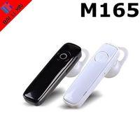 мобильные телефоны оптовых-M165 универсальный спорт Bluetooth-гарнитура беспроводные наушники с шумоподавлением наушники для мобильного телефона с розничной коробке