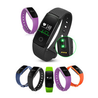 Wholesale id107 smart bracelet for sale – best ID107 Bluetooth Smart Bracelet smart band Heart Rate Monitor Wristband Fitness Tracker for Android iOS vs mi band