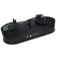Wholesale Vinyl Records Mp3 - Wholesale- 2016 new vinyl turntable record player, convert vinyl to mp3 in USB Driver or TF Card directly, no PC required, Free shipping