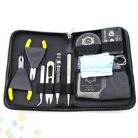 Wholesale designer tools for sale - LTQ Vapor Kit DIY Tool Kits For E Cigarette RDA RBA Vaporizer RBA Coil Designer LTQ Tool Kit DHL Free