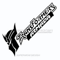 Wholesale F Windows - Car stickers personality car stickers Transformers personalized classic cartoon reflective Professional car with high-strength reflective f