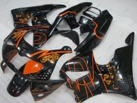 Wholesale Corona Honda - Body Kits CBR900 893 1996 Full Body Kits CBR 893RR 1995 Black for Corona Bodywork CBR893RR 1994 1994 - 1997
