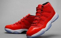Wholesale Good Healing - Gamma Blue XI Basketball Shoes New Fashion Sports Shoes Discount Good Quality Retro 11(XI) Bred Concord Space Jam Legend Sneakers