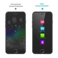 Wholesale Iphone 5c Ballistic - For iPhone X 8 4 4S 5 5S SE 5C 6 6S 7 Plus Screen Protector Clear Film Premium Ballistic Glass Tempered Glass Anti-scratch case