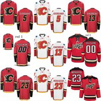 Wholesale Marks 24 - Youth Calgary Flames Jersey 5 Mark Giordano 13 Johnny Gaudreau 24 Travis Hamonic 25 Freddie Hamilton 93 Sam Bennett Hockey Jerseys Mix Order