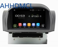 Car DVD PC Audio Rádio Player Android 5.1.1 GPS DVR WiFi para Ford Fiesta 2011 2012 2013 2014 2015 2016
