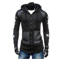 rahat beyzbol formaları toptan satış-Yeni casual hoodies erkekler Hırka kazak erkekler hoody sweatshirt Kazaklar Beyzbol Forması SS-M6