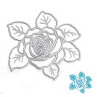 Wholesale Big Dies - Big Rose DIY Metal Cutting Dies Stencil Scrapbook Card Album Paper Embossing Crafts