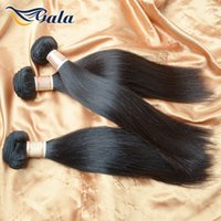 kbl virgin brazilian hair achat en gros de-Vente en gros-usine de prix Brazilian Virgin cheveux Straight Virgin Cheveux Bundle Offres Full Head KBL Kinky Straight cheveux Weave Remy cheveux humains