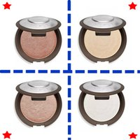 Wholesale Cake Circles Wholesale - In 2017 new becca powdery cake rose gold pearl protein of shiny skin pink 4 kinds of color DHL free shipping