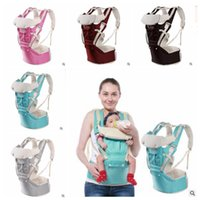 Wholesale horizontal backpacks for sale - Group buy Baby Wrap Carrier Breathable Multifunctional Months Baby Slings Baby in Waist Stool Straps Infant Comfortable Backpack Pouch J518