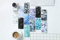 Wholesale Huawei Phone Case Rhinestones - Marble Painted phone Case for Android LG SONY Samsung iphone 7 plus Case Customize all Models Samsung OPPO HUAWEI VIVO XiaoMi Free shipping
