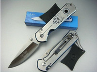 Wholesale Chris Reeve Knives - Excellent Quality Chris Reeve F32 Hunting Folding Knife Tactical 56HRC 440 (160g) Xmas gift 1pcs sample freeshipping