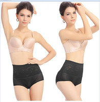 Wholesale Seamless Thin Shaper - Wholesale-Plus Size L-5XL Thin Breathable Bamboo Panties Slimming Body Waist Training Underwear Seamless Comfortable Shaper Briefs Pants