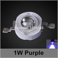 50 pc / lot LED Beads Chip 1W viola LED ad alta potenza palle viola viola Sorgente luminosa LED Lamp Emitting Diode