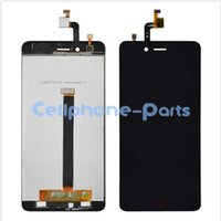 Wholesale Display Zte - Wholesale- Black White LCD+TP For ZTE Nubia Z11 Mini TD-LTE NX529J LCD Display + Touch Screen Digitizer Assembly Replacement + Free Tools