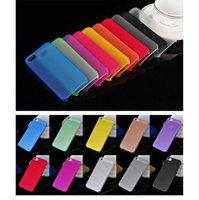 ingrosso copertine di iphone5s-Custodia a sacco ultra sottile da 0,3 mm per Apple Iphone 5 5s 6 6s 7 Custodie 7plus per iPhone5S 4 4s Custodia protettiva per cellulare-PP