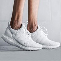 Baratos Ultra Boost 3.0 Triple Running Shoes para hombres mujeres Ultraboost 3 Primeknit Runs Negro Blanco Casual Ultrals Boosts mens womens Sneakers