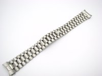 ingrosso bracciali per acciaio inossidabile-Carlywet 20 millimetri all'ingrosso solido fine curva a vite collegamenti fibbia di distribuzione cinturino in acciaio inox cinturino da polso bracciale